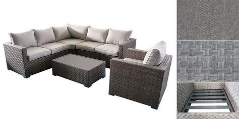Sofa Ezee En Textilene Meubles Jardin Outdoor Decor Home