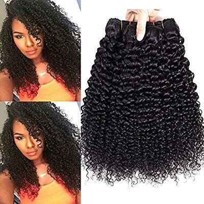 Amazon Com 3 Bundles Of Brazilian Hair Kinkys Curly Human Hair