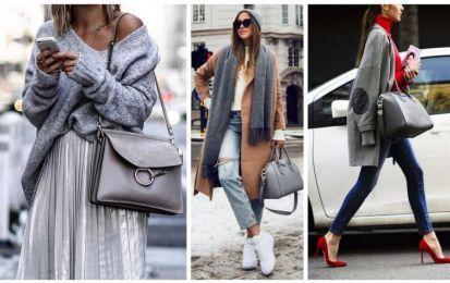 Consejos de estilo: Cómo combinar el bolso gris | Bolsa gris, Consejos de  estilo, Combinaciones de ropa