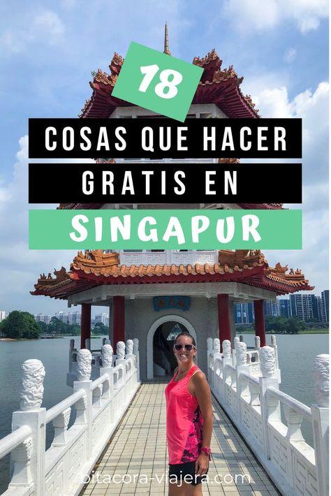 18 cosas que hacer gratis en Singapur | Bitácora Viajera by Maru Mutti