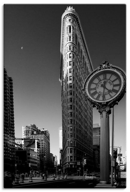 Kunstdruck Poster Kurt Krause New York Flatiron