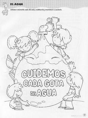 Maestra Asunción Imágenes Para Colorear Sobre El Día Del Agua