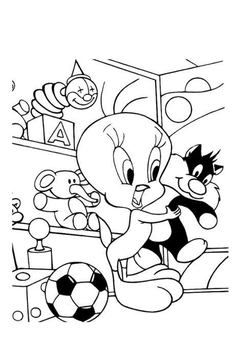 Muitos Desenhos Do Piu Piu Looney Tunes Para Colorir Pintar