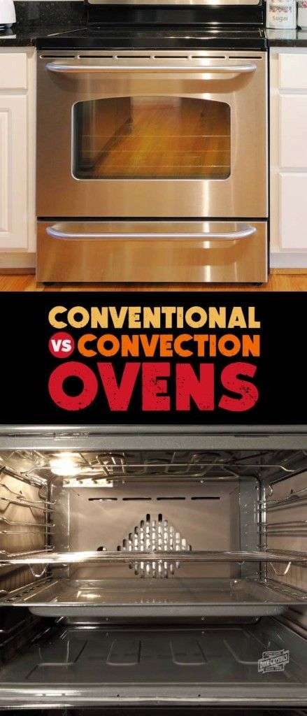 The Difference Between A Conventional And Convection Oven Convection Oven Cooking Convection Oven Recipes Convection Cooking