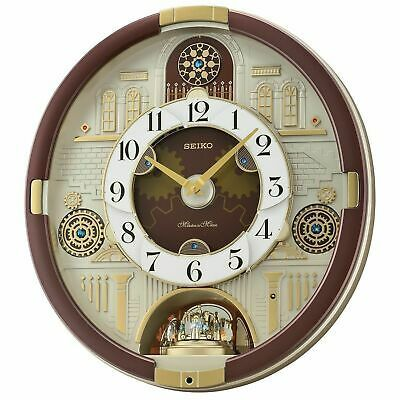Seiko Special Collector S Edition Melodies In Motion Wall Clock 30 Melodies Fashion Home Garden Homedcor Clocks Ebay Link In 2020 Wall Clock Clock Seiko