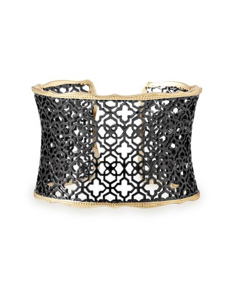 4b225b85f63b1 Kendra Scott Candice Mixed Metal Cuff Bracelet | benefit | Cuff ...