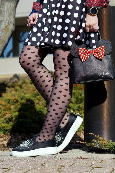 f3dce5f5fbc List of Pinterest short skirts black tights polka dots images ...