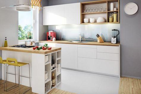 Cuisine aménagée et équipée optimisée - astuces et photos ...