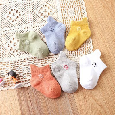 Liu Chenghang Children S Socks Mesh Combed Cotton Short Tube Baby Socks Breathable Pure Baby Socks Korean Student Socks Kids Socks Baby Socks Baby Stocking