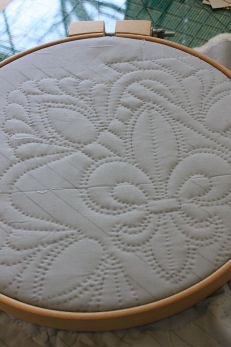 whole cloth quilt stencils | piece was designed with two quilting stencils also from the Stencil ...