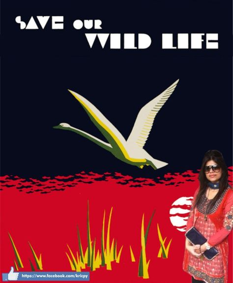 Save Our Wild Life! Make the earth a better place to live in.
