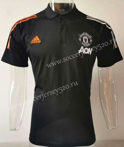 2020 2021 Manchester United Black Polo Shirt Sj In 2020 Black Polo Shirt Polo Shirt Manchester United