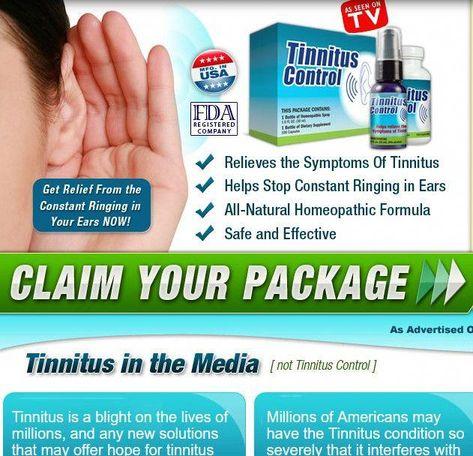 Fda Registered Tinnitus Control Relieves The Symptoms Of Tinnitus
