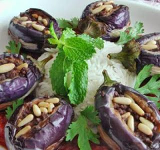 شيخ محشي الباذنجان Eggplant Food Meat