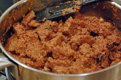 Resep Rendang Padang Kering Asli Spesial Enak Resep Resep Masakan Pedas Resep Masakan