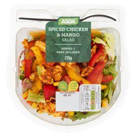Asda Spiced Chicken Mango Salad Asda Groceries Mango Salad