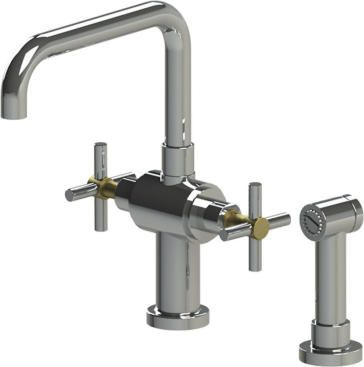 Two Handle Single Hole Kitchen Faucet