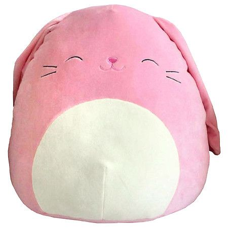Squishmallow Pink Bunny 16 1 Ea Cute Stuffed Animals Bunny Plush Animal Pillows