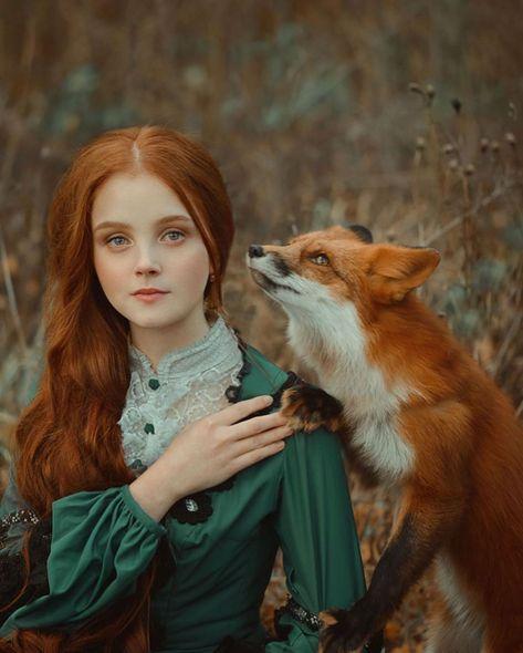 La beauté des différentes espèces de renards mise en lumière dans un projet photo mystique