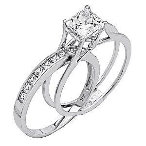The Wedding Band Slides INSIDE Engagement I Want One