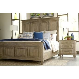 Sallie Standard Bed Platform Bed Panel Bed Bed Sizes