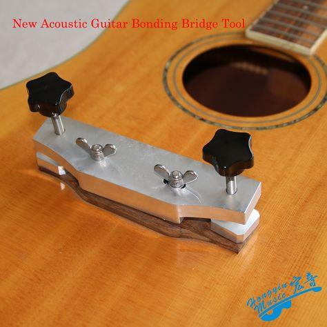 New Acoustic Guitar Bonding Bridge Tool Aluminum Diy Guitar Making Special Tools In Guitar Parts Accessorie Luthier Guitar Acoustic Guitar Guitar Accessories