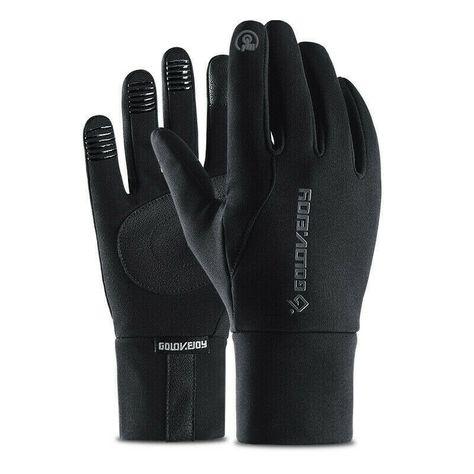 Black Unbranded winter gloves lined warm gloves Brand New Men/'s leather gloves