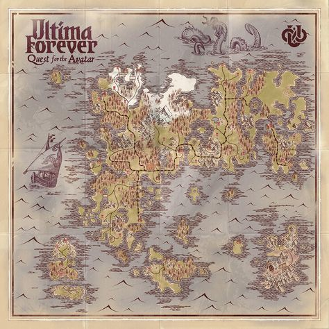 Ultima Online Map Of Britannia Pictures Ultima Online Map Of
