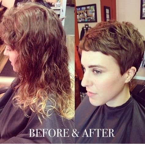 Voor En Na 15 Trendy Lang Kort Kapsel Transformaties Hair