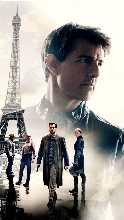 Tom Cruise, Mission: Impossible – Fallout, 2018 movie, poster, 720x1280 wallpaper