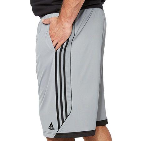 Adidas Mens Elastic Waist Basketball Shorts Big And Tall Adidas Men Pants Outfit Men Mens Shorts Outfits