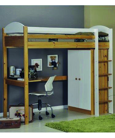 Fascinating Charleston Storage Loft Bed With Desk Espresso Only In Home Design Site Diy Loft Bed Loft Beds For Small Rooms Small Kids Room