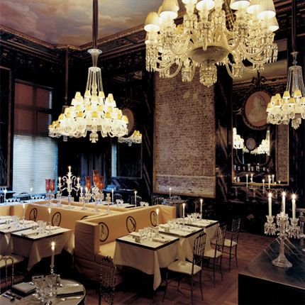 Loveisspeed Cristal Room By Philippe Starck Paris France Crystal Room Philippe Starck Restaurant Design