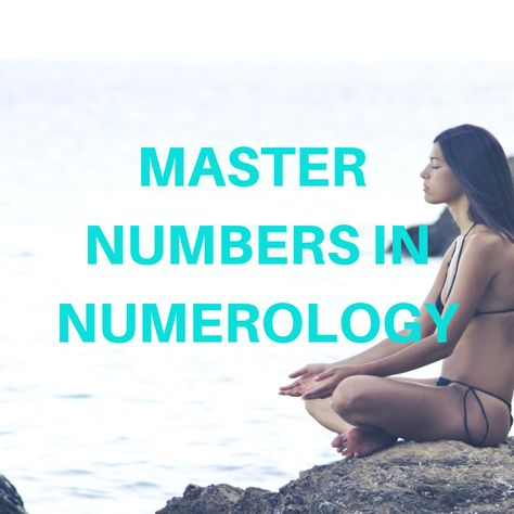Find out about #masternumbers in #numerology