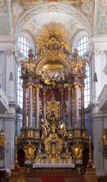 St Peter Munich Sakrale Architektur Barock Architektur Kirchen