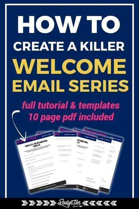 How to Create a Killer Welcome Email Series (Full Tutorial + Templates!)