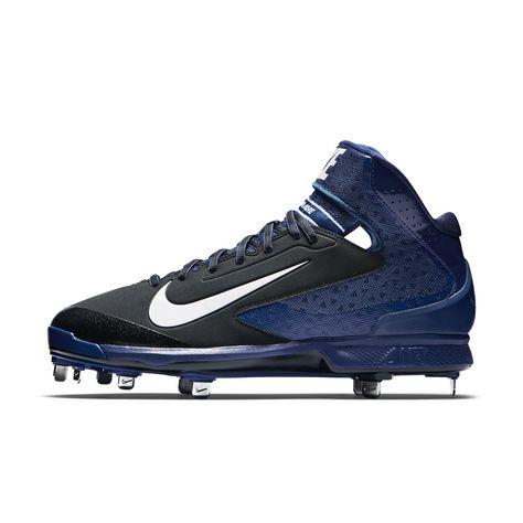 3db7d82ab57f Nike Air Huarache Pro Mid Metal Men s Baseball Cleats Size 10.5 (Black) -  Clearance Sale