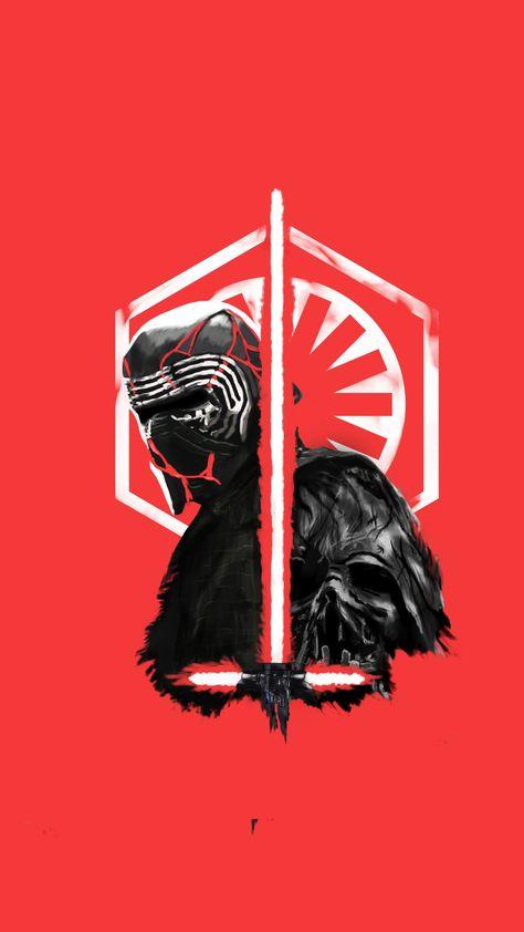 Star Wars, Kylo Ren, fan art, 2160x3840 wallpaper