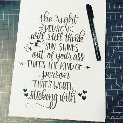 More words of wisdom from Juno!!! #letteringjuno @lyssletters