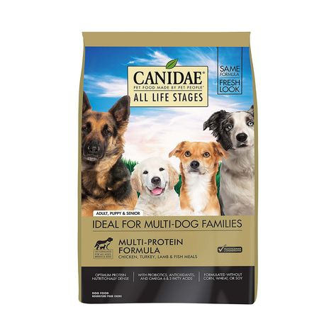 Canidae All Life Stages Chicken Turkey Lamb Fish Meals Formula