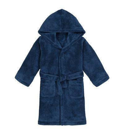 Robe De Chambre A Capuche Polaire Douce 3 14 Ans En 2020 Robe