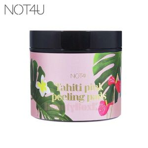 Not4u Tahiti Pink Peeling Pads 120ml 70ea Available Now At Beauty Box Korea Beauty Box Korean Beauty Trends Pink