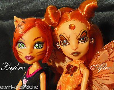 "Monster High OOAK Custom Repaint Scari's Fairies 6 ""Mari Posa"" Butterflies | eBay"