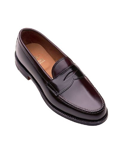 888d8958bf1 Rancourt   Co. shell cordovan beefroll penny loafers