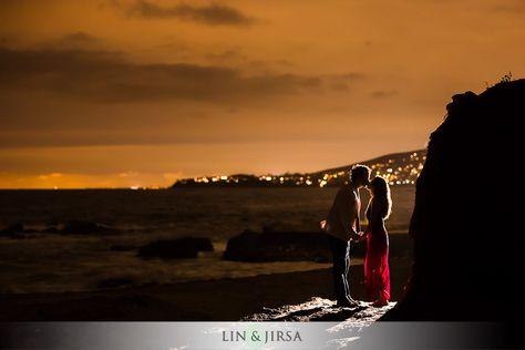 Beautiful Orange County Beach Engagement | Ben and Mirei
