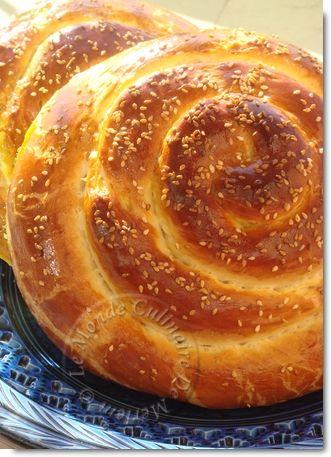 Pain marocain spirale ... Simply the best - Le Monde Culinaire De Meriem