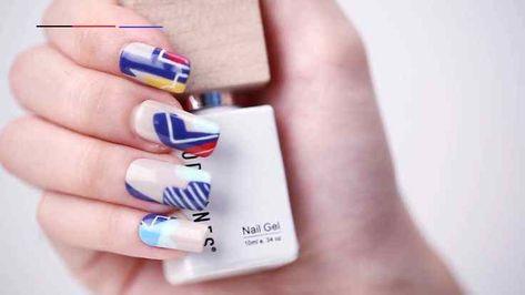 MODELONES Smoothie Gel Polish Collection Nail Art Designs Strange Crossing | Nail art designs made with Smoothie Gel Nail Polish Collection. #modelones #nail #nails #naildiy #diy #naildesigns #nailsdesign #nailart #nailsart #nailartdesigns #nailsartdesigns #nailscolors #nailcolors #nailsofinstagram #nailsinspiration #gelnailpolish #gelpolish #gelnails #nailpolish #nailswag #nailsalon #cateyes #cateyenails #glitter #glitternails #beauty #beautyhacks #color #lifestyle #nailvideos #nailvideo #video
