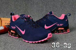 Nike Air Max Shox 2018 Running Shoes Deep Blue Pink
