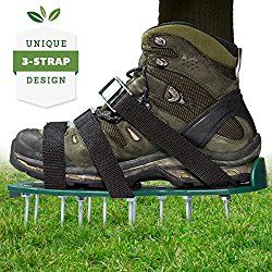 Top 10 Best Manual Lawn Aerators For The Money Reviews Guide 2018 Aerate Lawn Shoes Spike Shoes