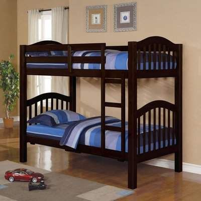 Harriet Bee Englert Twin Over Twin Bunk Bed With Drawers Wayfair In 2020 Cool Bunk Beds Bunk Beds Modern Bunk Beds